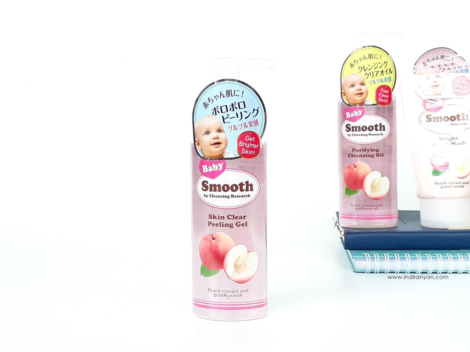 bcl-skin-clear-peeling-gel-with-aha-baby-smooth, bcl-skin-clear-peeling-gel-with-aha-baby-smooth-review, bcl-baby-smooth-skin-clear-peeling-gel