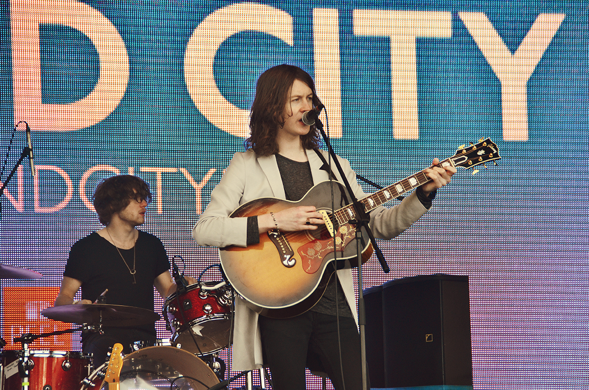 Blossoms Main Stage Liverpool Sound City Sunday Day Three 2015