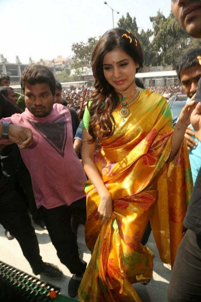 Samantha Launches South India Shopping Mall Photos