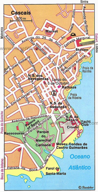 Cascais map