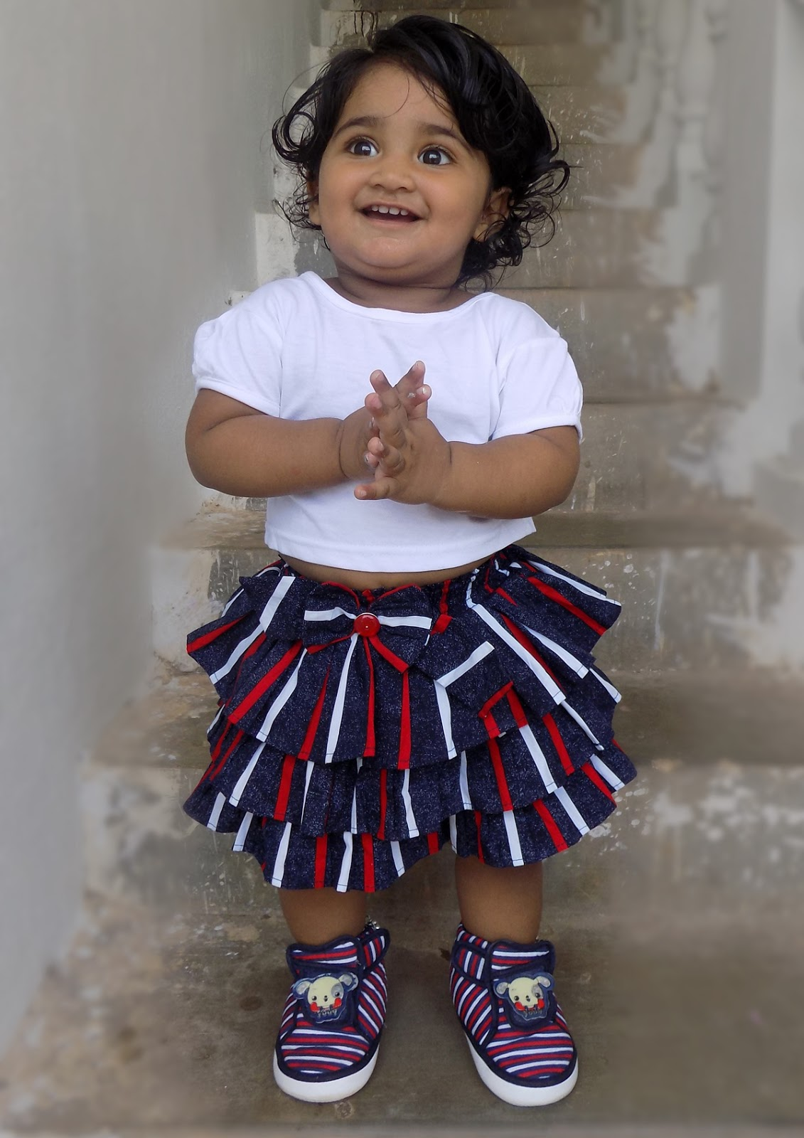 cute smile baby girl pictures-india-nainika raj: cute smile baby girl