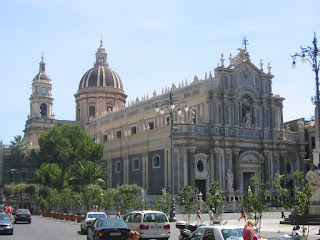 Photo of the Duomo in Catania