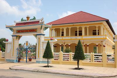 Casa del tejido Cao Dai
