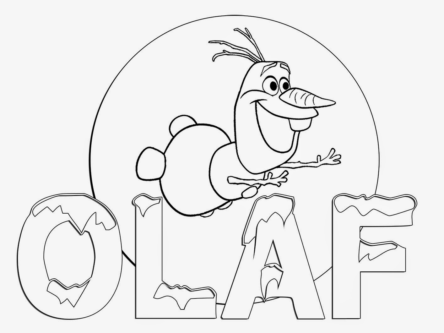 - Didi Coloring Page: Frozen Coloring Pages