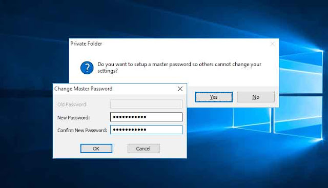 Install Private Folder - Cara Mengunci Folder Di Laptop