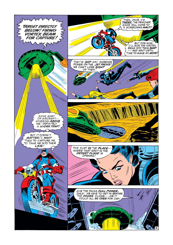 Captain America (1968) Issue #146 #60 - English 19
