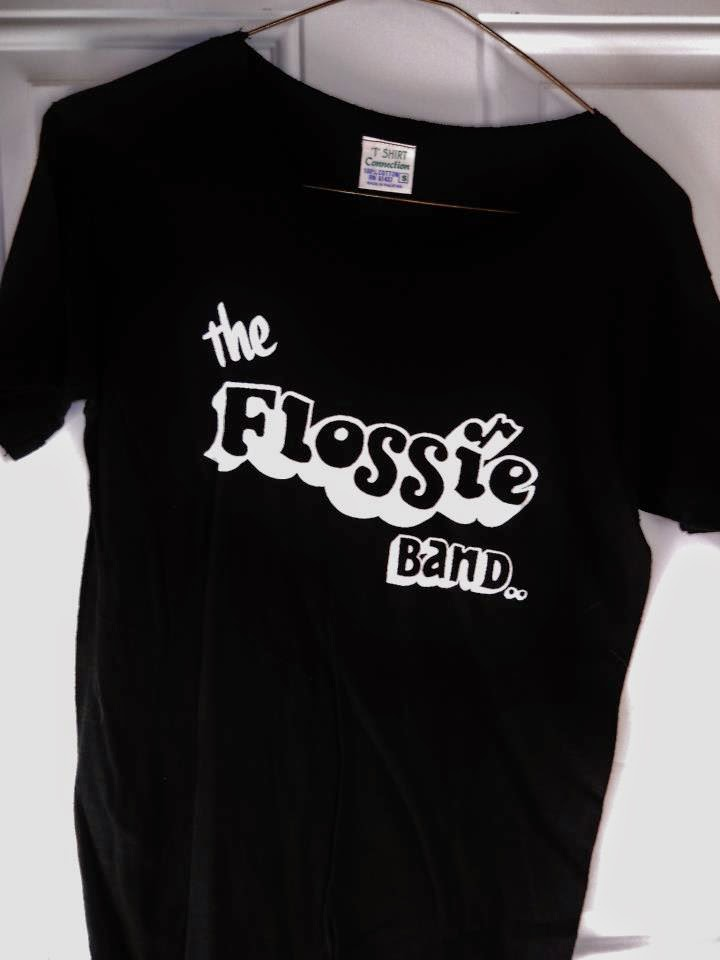 The Flossie Band t-shirt