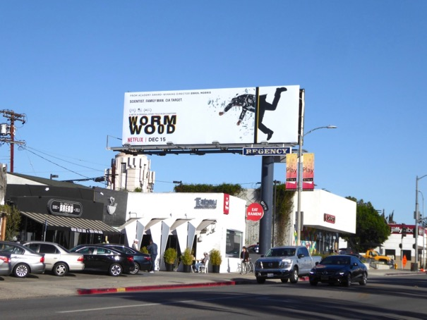Wormwood miniseries billboard