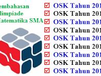 Download Pembahasan Olimpiade Matematika SMA (OSK) Tahun 2010-2018