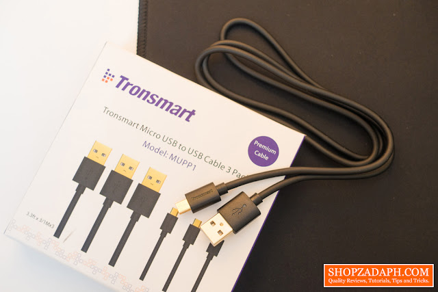 Tronsmart MUPP1 20AWG Premium Micro USB Cable Review