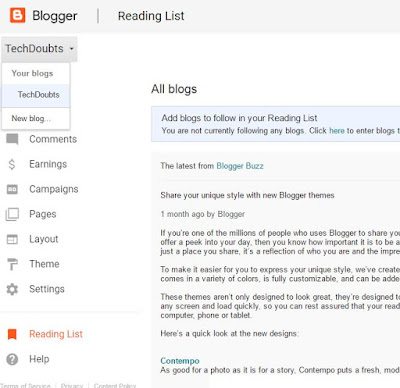 Start blogging with blogspot | Full guide.