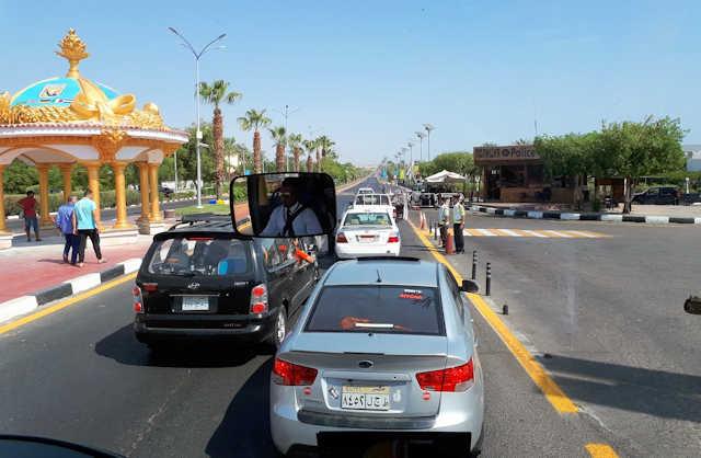Sharm El Sheikh, Polizeikontrolle