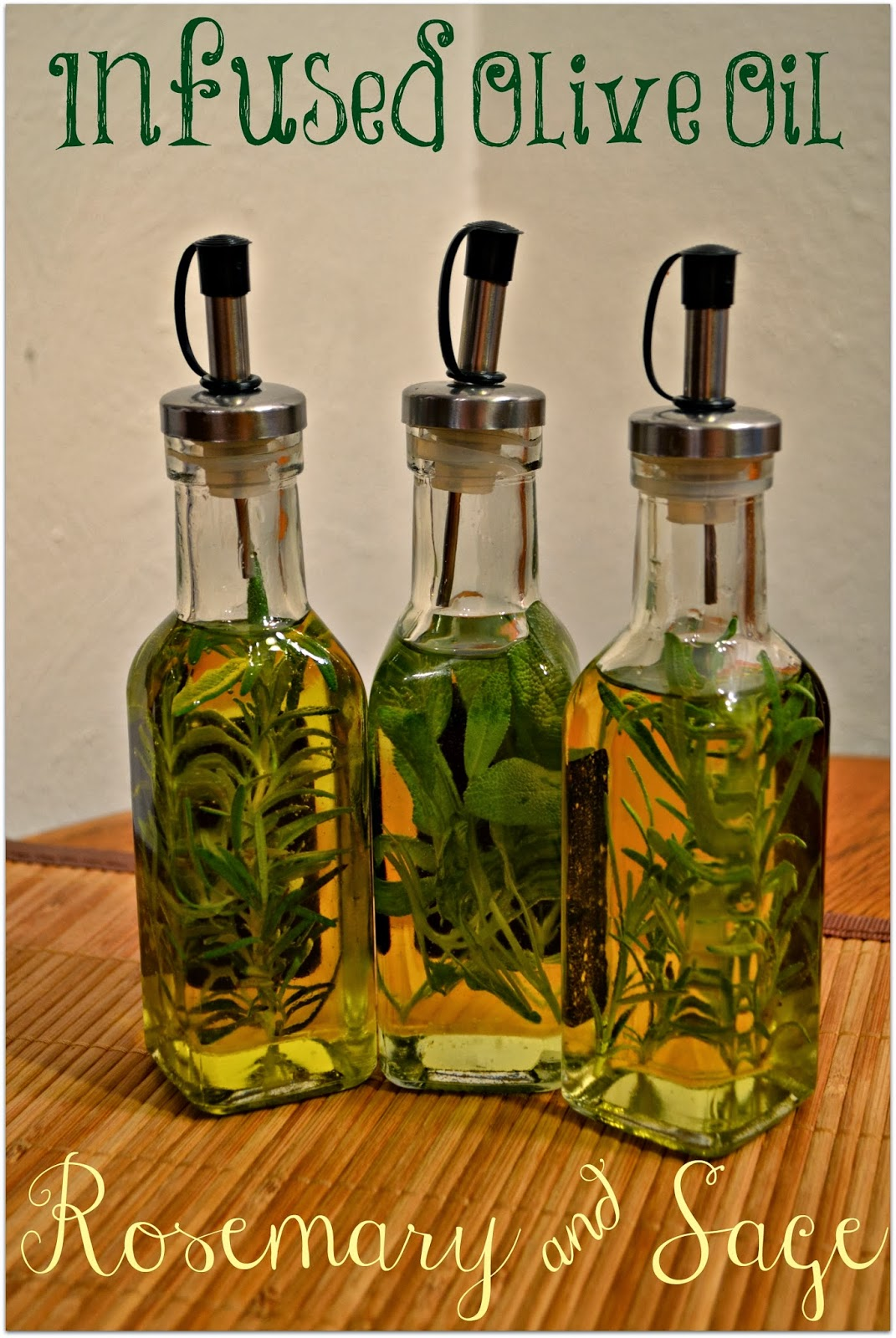 Herb Infused Oils - How to Make Herbal Oils with Dried ...  Flavored Oils