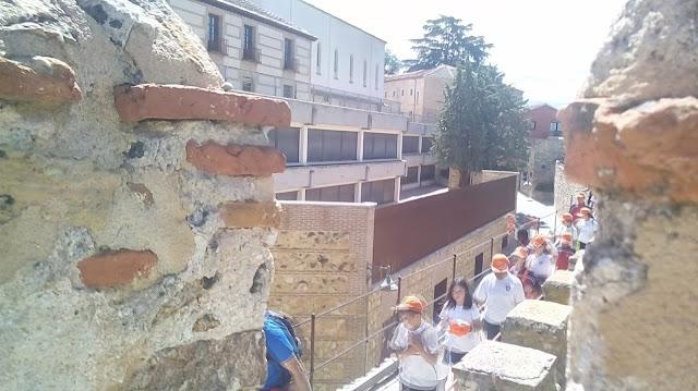 Fray coello de Portugal ampliación del colegio de la Jesuitinas en Segovia