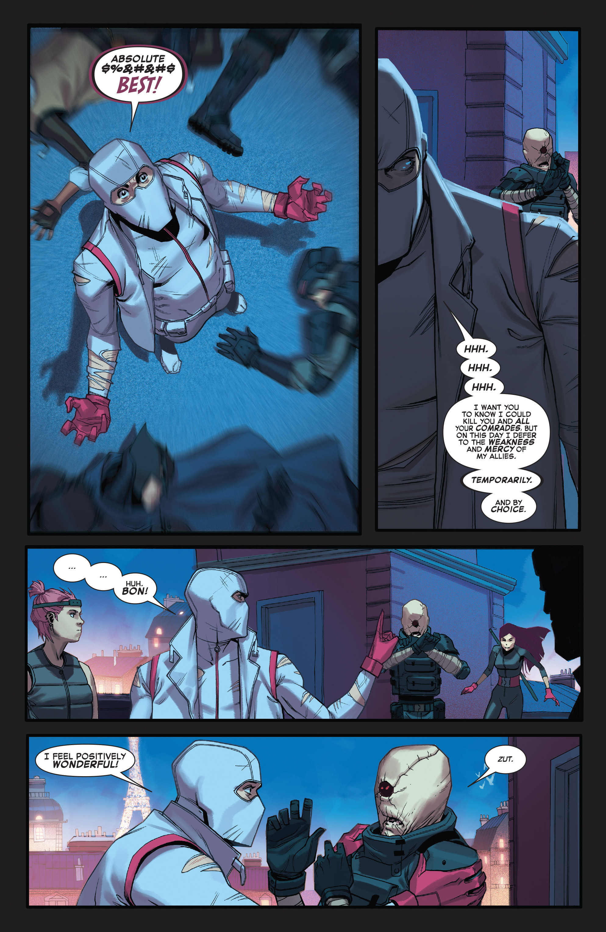 Read online X-Force (2014) comic -  Issue #4 - 19
