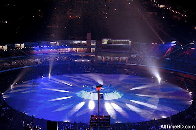 ICC World Cup 2011 opening ceremony picture
