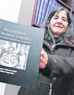 """María Eliana Vega, presidenta Consejo Regional Concepción y su nuevo libro: """"Hay muchas cosas en materia de Derechos Humanos que no se saben"""""""