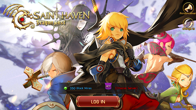 Nyobain Game Dragon Nest Saint Haven Mobile Android Apk + Data