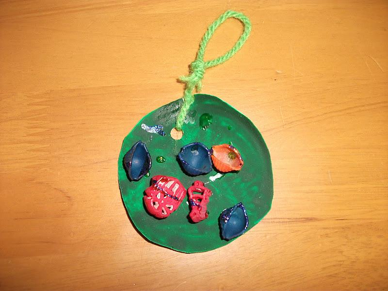 Preschool Crafts for Kids*: Christmas Pasta Tree Ornament ...