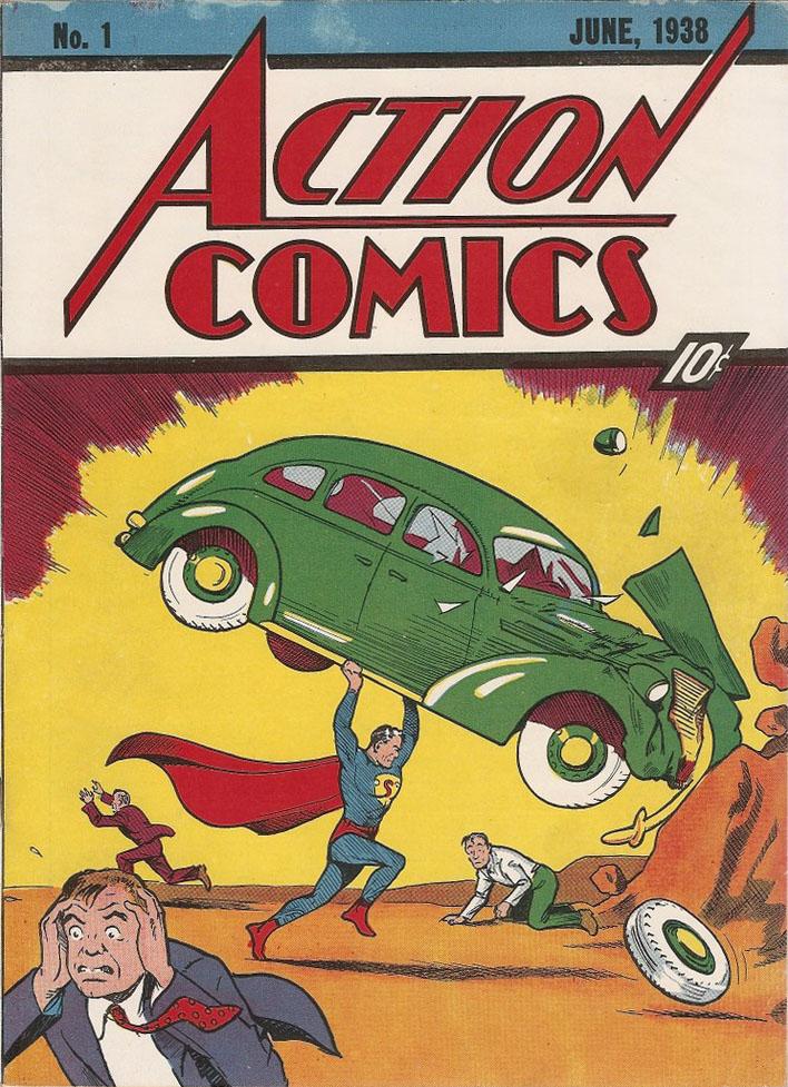 Action Comics (1938) 1 Page 0