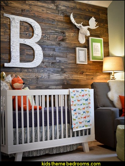 modern rustib baby bedrooms  Modern rustic decorating - Modern rustic decor - modern contemporary rustic style nature-inspired furniture - modern rustic baby bedrooms - wooden wall art - rustic modern baby nursery