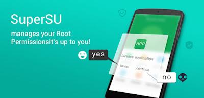 Cara Unroot ponsel android Android dengan aplikasi SuperSU