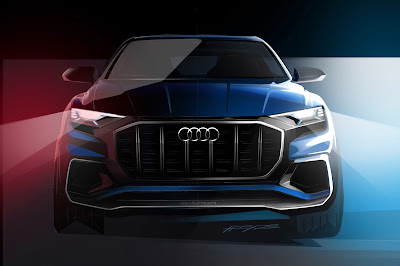 Audi Q8 SUV Concept Teaser image