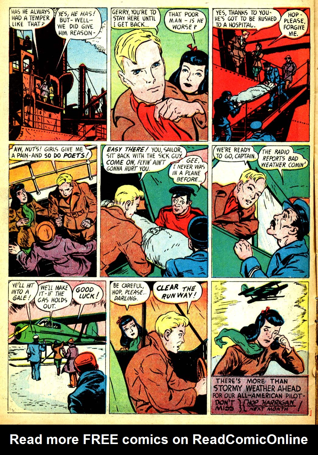 Read online All-American Comics (1939) comic -  Issue #9 - 22