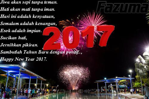 Gambar dan Ucapan Selamat Malam Tahun Baru 2017