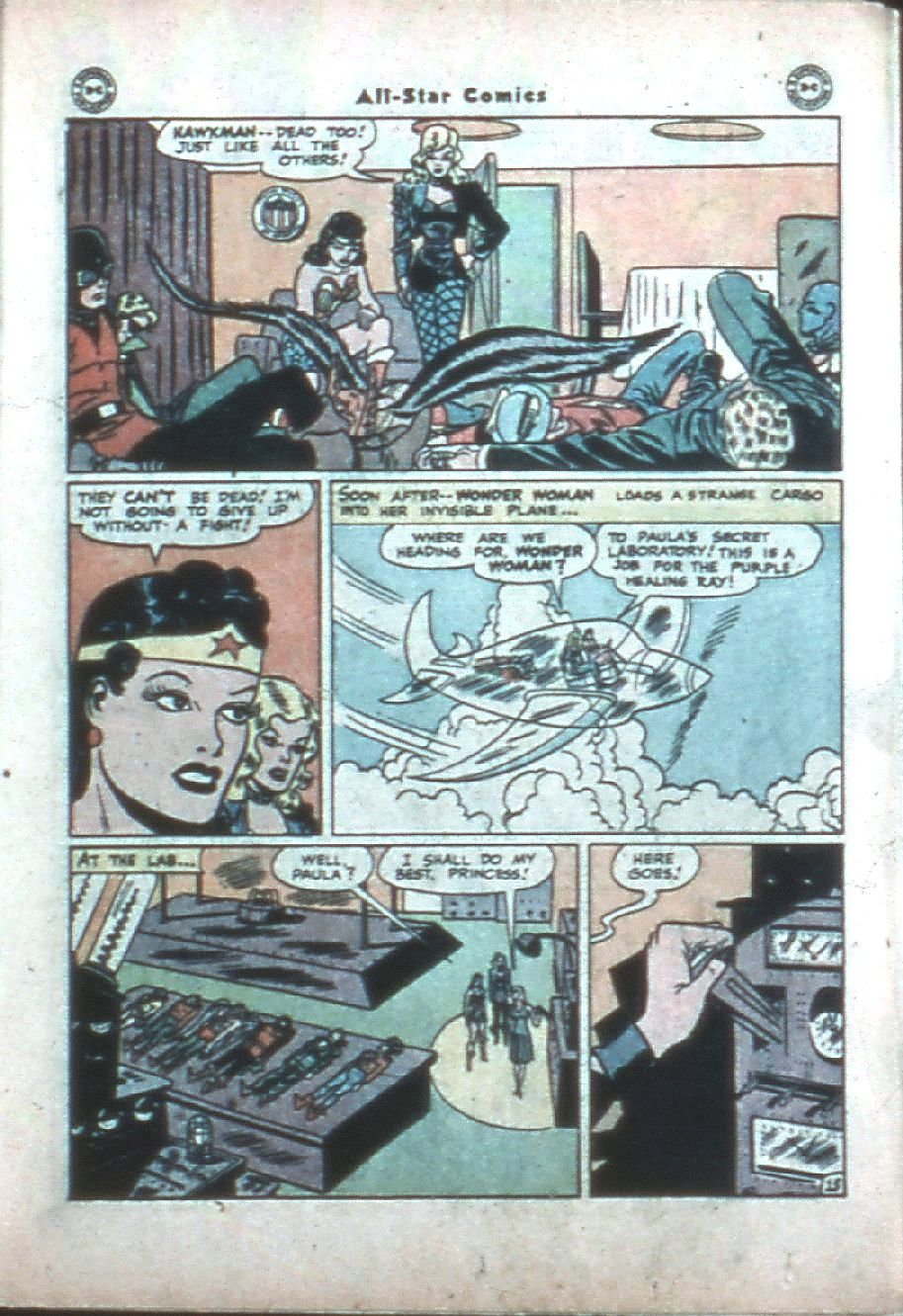 Read online All-Star Comics comic -  Issue #38 - 19