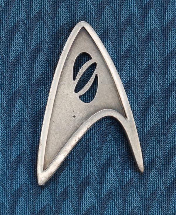 Star Trek Into Darkness Spock Starfleet insignia