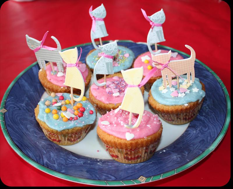 Recette Cupcake cat