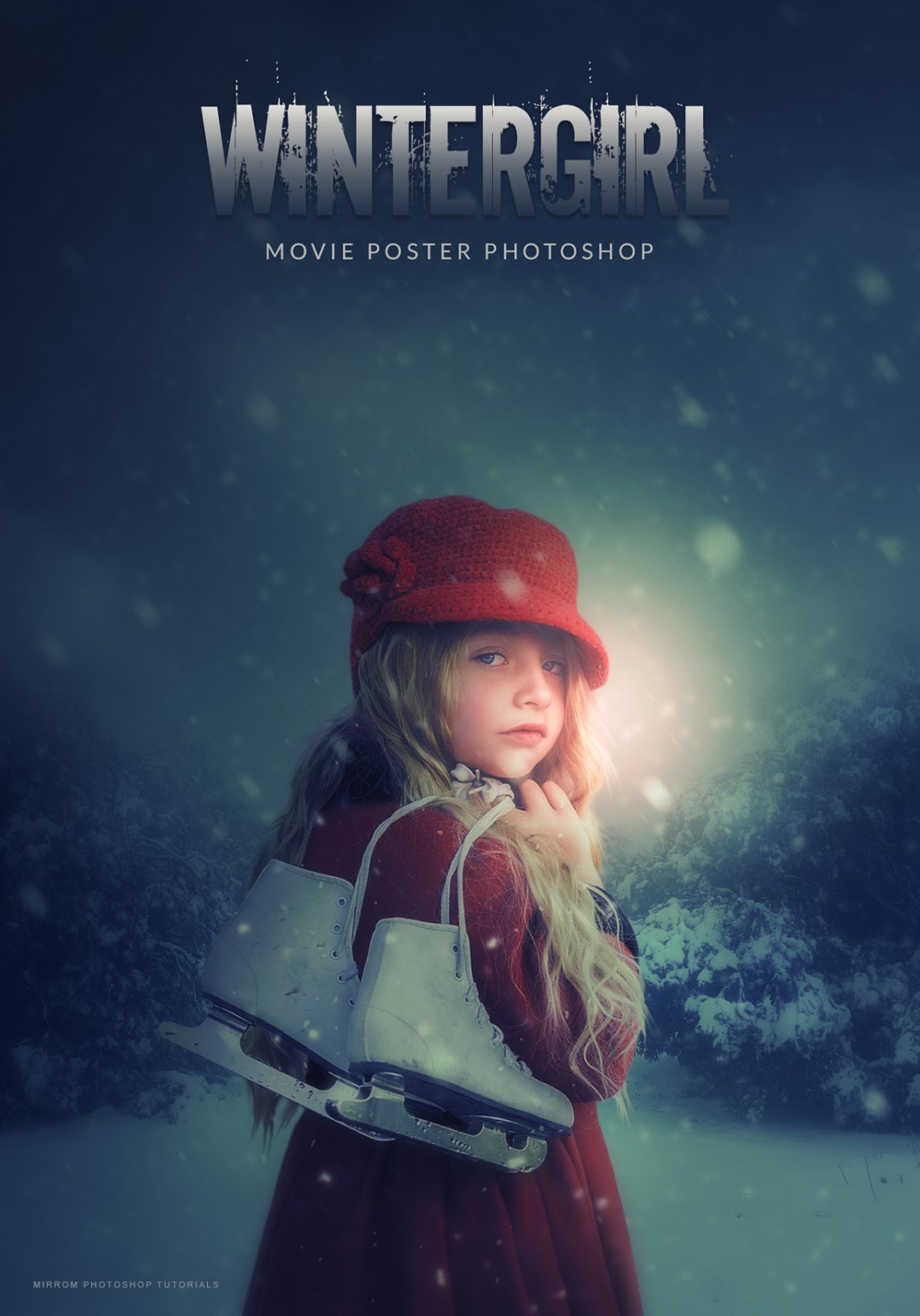 create a movie poster photo manipulation effects with