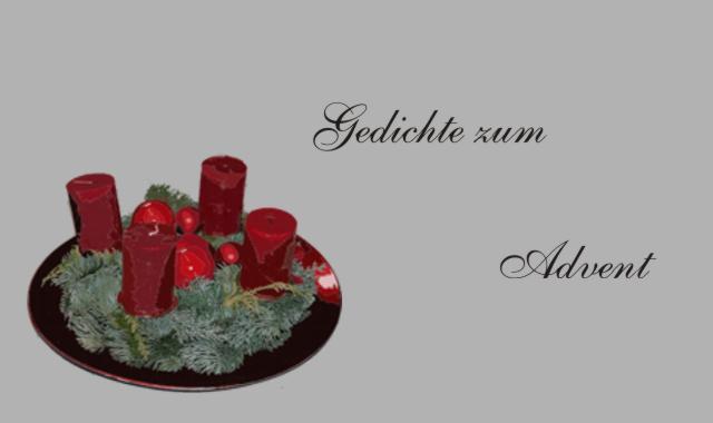 Gedichte Und Zitate Für Alle Es Ist Advent Gedichte Zum