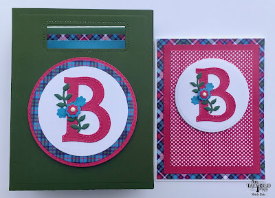Our Daily Bread Designs Custom Dies: Letter B, Leaves and Branches, Double Stitched Circles, Circles, Double Stitched Rectangles, Pretty Posies, Card Caddy and Gift Bag, Gift Bag Handles and Topper, Paper Collection: Boho Bolds