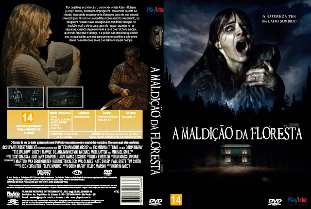 Capa DVD A Maldição Da Floresta