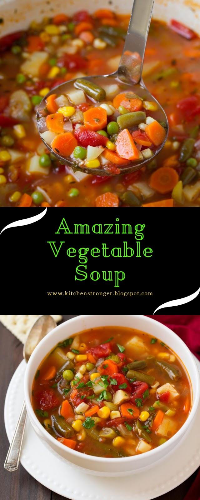 Amazing Vegetable Soup