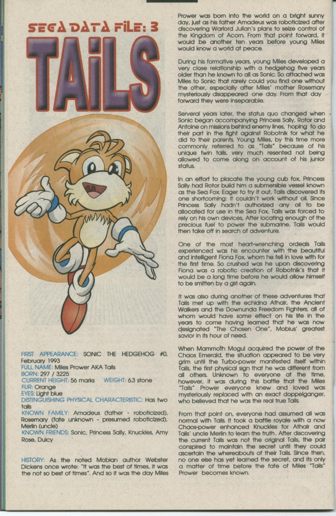 Read online Sonic The Hedgehog comic -  Issue #112 - 20