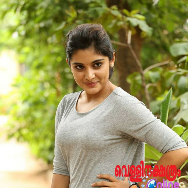 Niveda Thomas latest photos from television interview