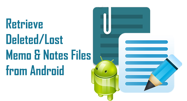 Deleted data recovery android