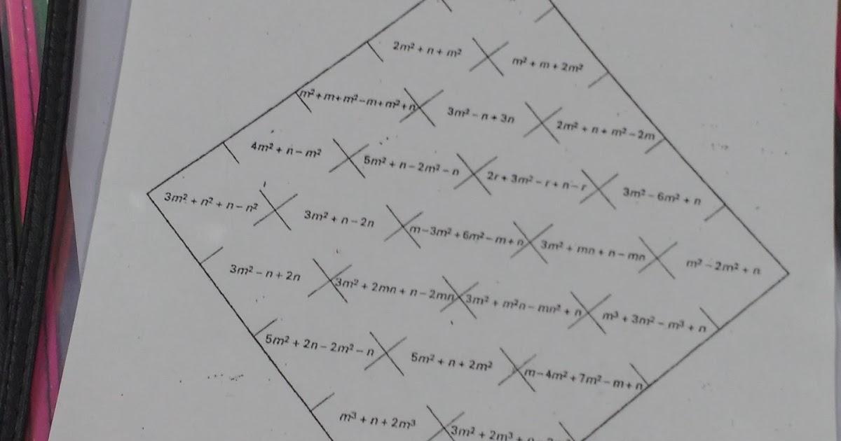 Math = Love: Combining Like Terms Maze