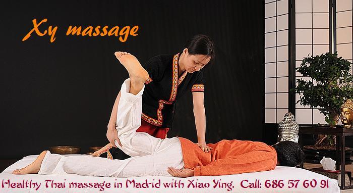 masaje thai en Madrid