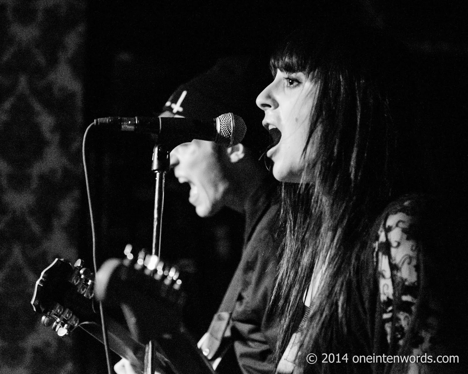 Bloody Diamonds at Cherry Cola's December 6, 2014 Photo by John at One In Ten Words oneintenwords.com toronto indie alternative music blog concert photography pictures