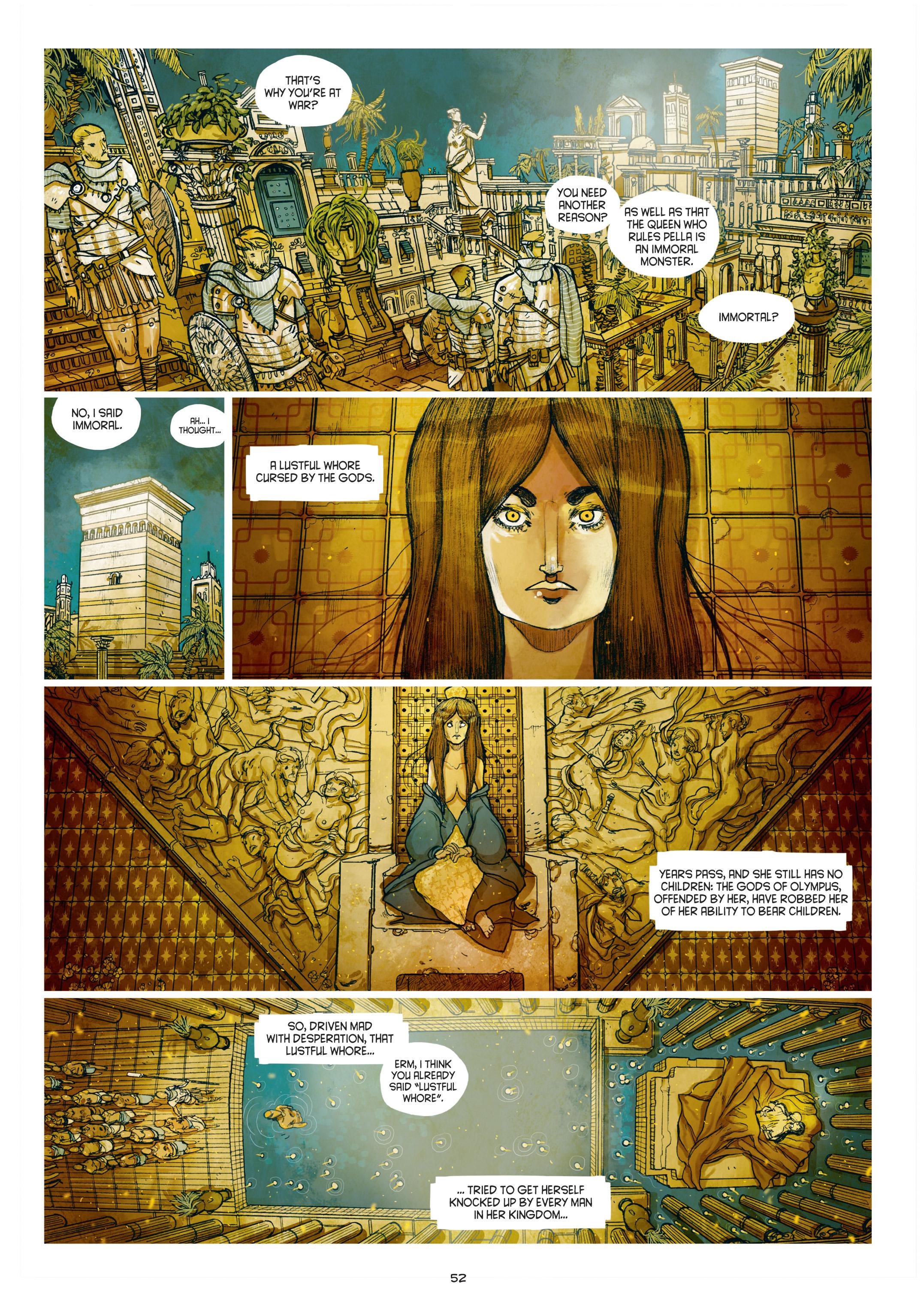 Read online Adrastée comic -  Issue #1 - 53