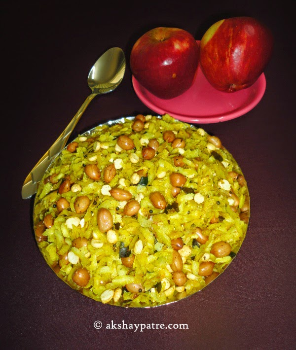 poha chiwda ready to serve