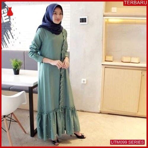 UTM099A60 Baju Aliya Muslim Pearl Dewasa Maxi UTM099A60 063 | Terbaru BMGShop