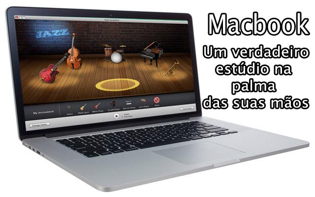 macbook para musicos, dj, tecladista, pianista