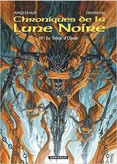 Les Chroniques De La Lune Noire - Tome 18 - Trone D'Opale (Le) PDF