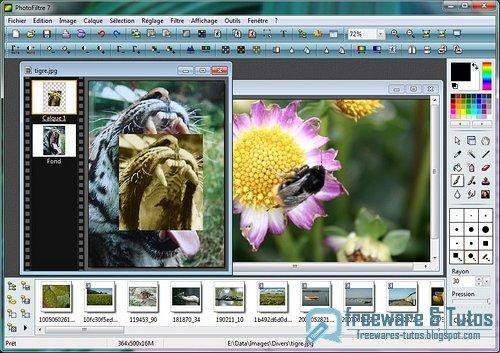 Photofiltre : un logiciel de retouche d'images performant
