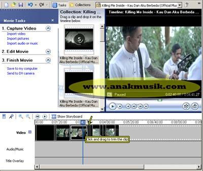 Cara Memotong Video Menggunakan Movie Maker